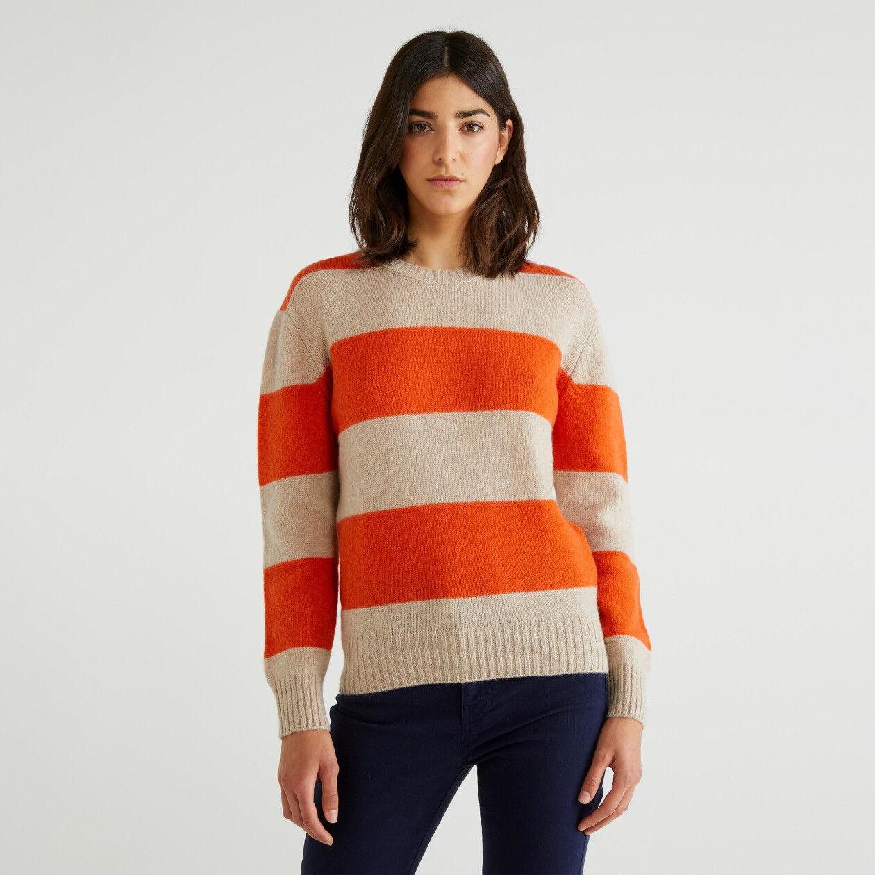 Sweater in Shetland wool