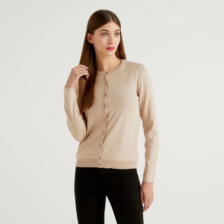 Cashmere blend cardigan