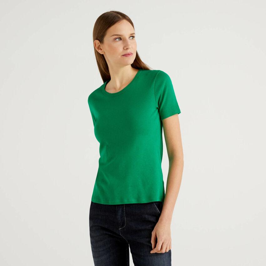 Customizable long fiber cotton t-shirt
