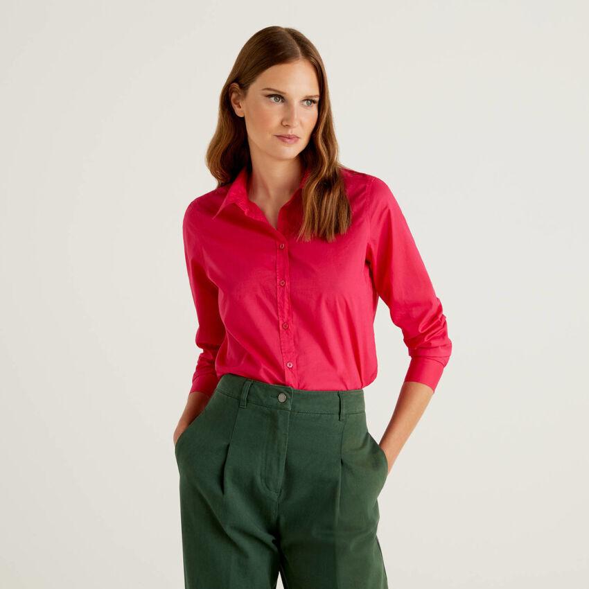 Shirt in lightweight cotton
