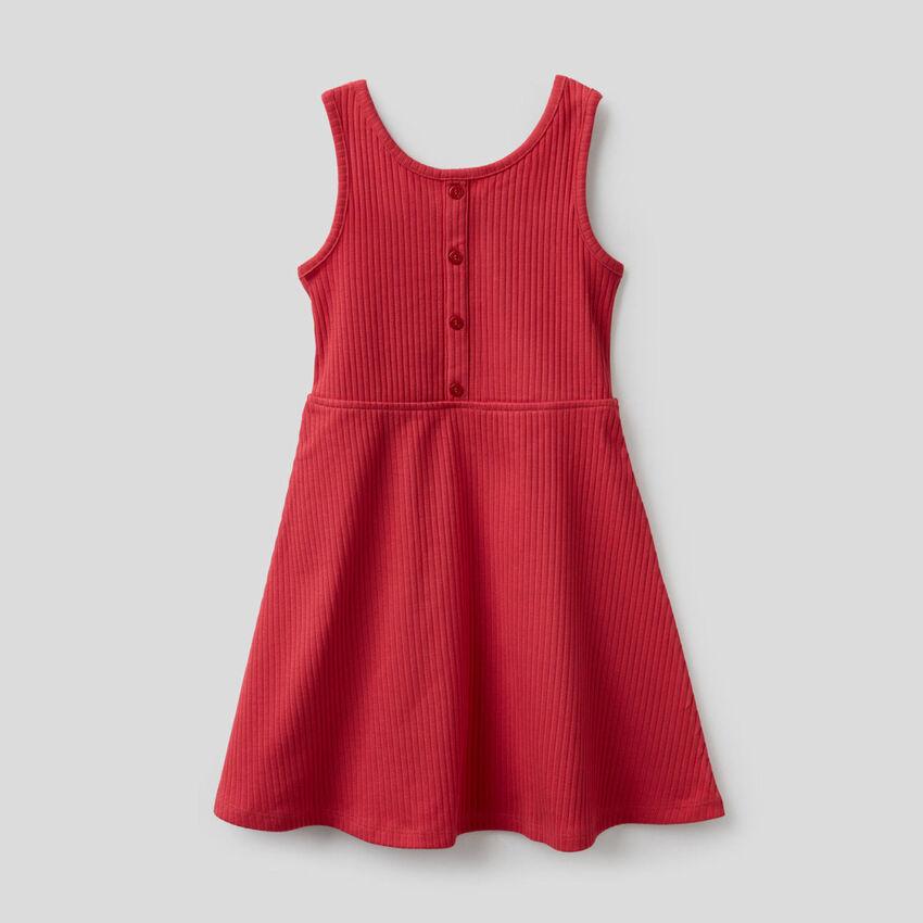 Ribbed summer dress