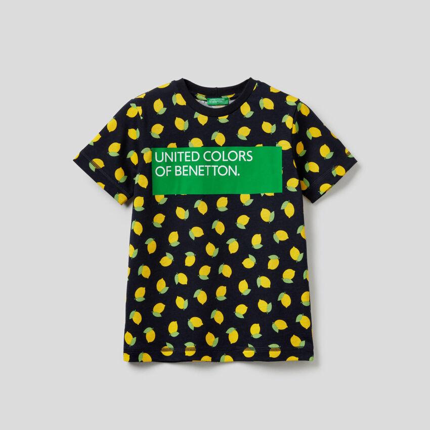 100% cotton printed t-shirt