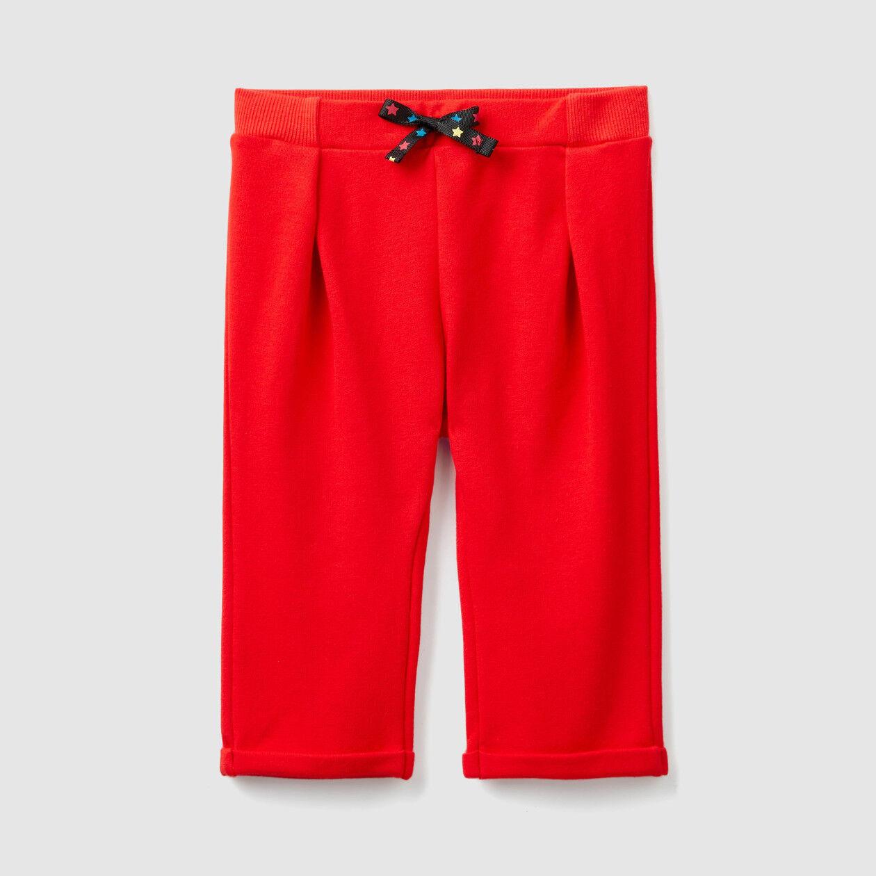 Sweatpants with cuff
